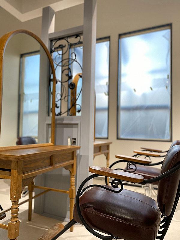 美容室キラキラボシの店舗・店内写真
